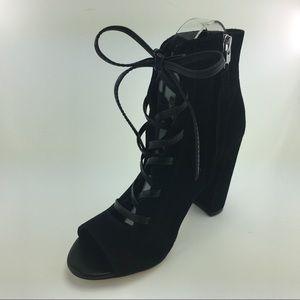 Sam Edelman Yvie Peep Toe Ankle Boots size 6